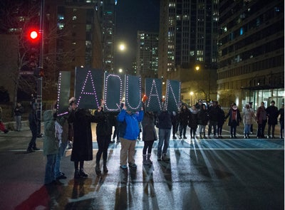 Peaceful Protests Occur After Video Released of Chicago Officer Shooting Teen 16 Times