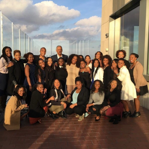 Oprah Treats Her South African Students to Glam Thanksgiving Dinner and The Color Purple on Broadway