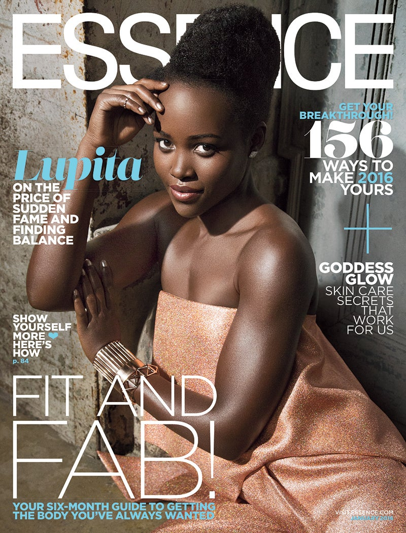 Lupita Nyong'o Starts the New Year Right With First ESSENCE Cover