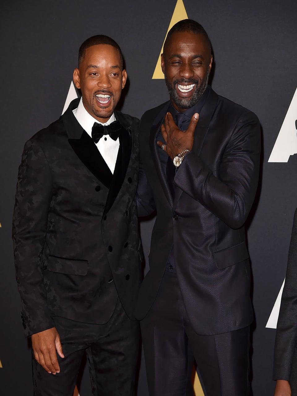 Idris Elba Scores 2 Golden Globe Noms, Uzo Aduba, Will Smith, Queen Latifah Earn Nods Too