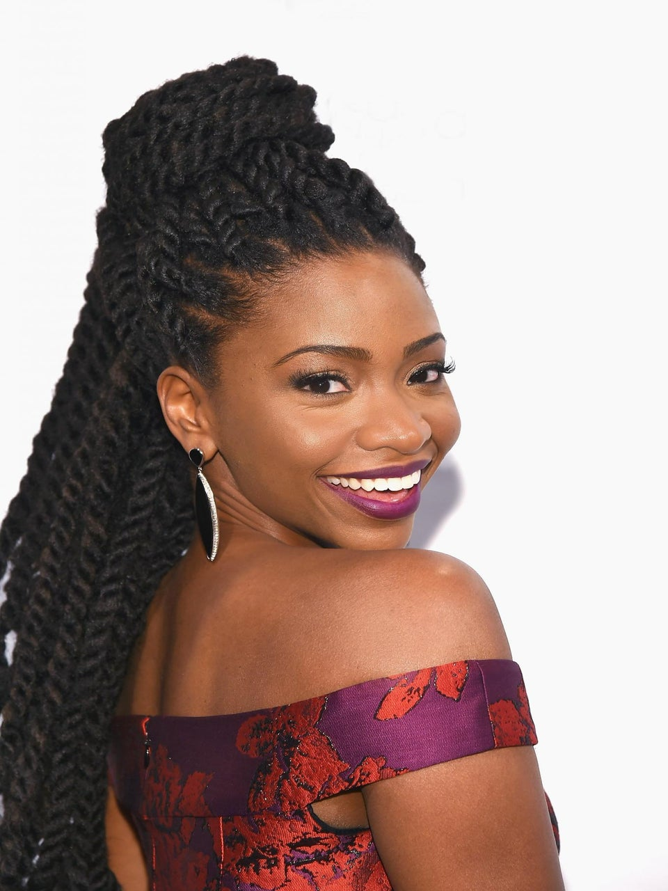 Photo Fab: Teyonah Parris' Jumbo Twists