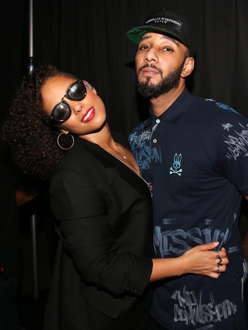 #Goals: That One Time Swizz Beatz Gave Alicia Keys a 32-Carat Diamond Ring and Took Our Breath Away