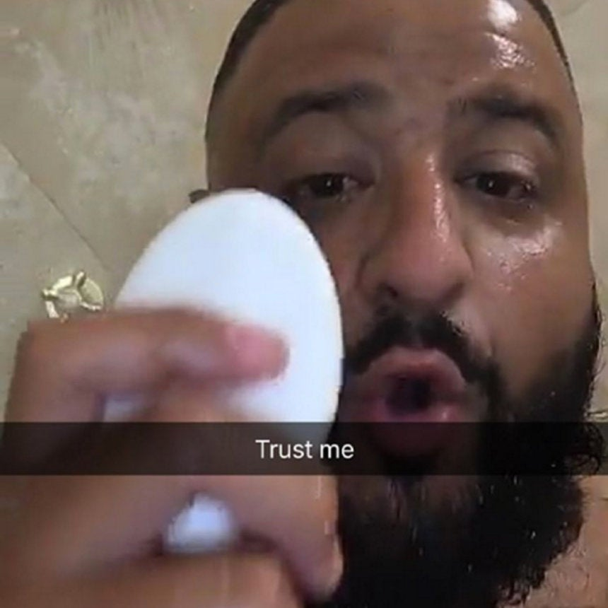 7 Beauty Tips We Learned From DJ Khaled's Snapchat