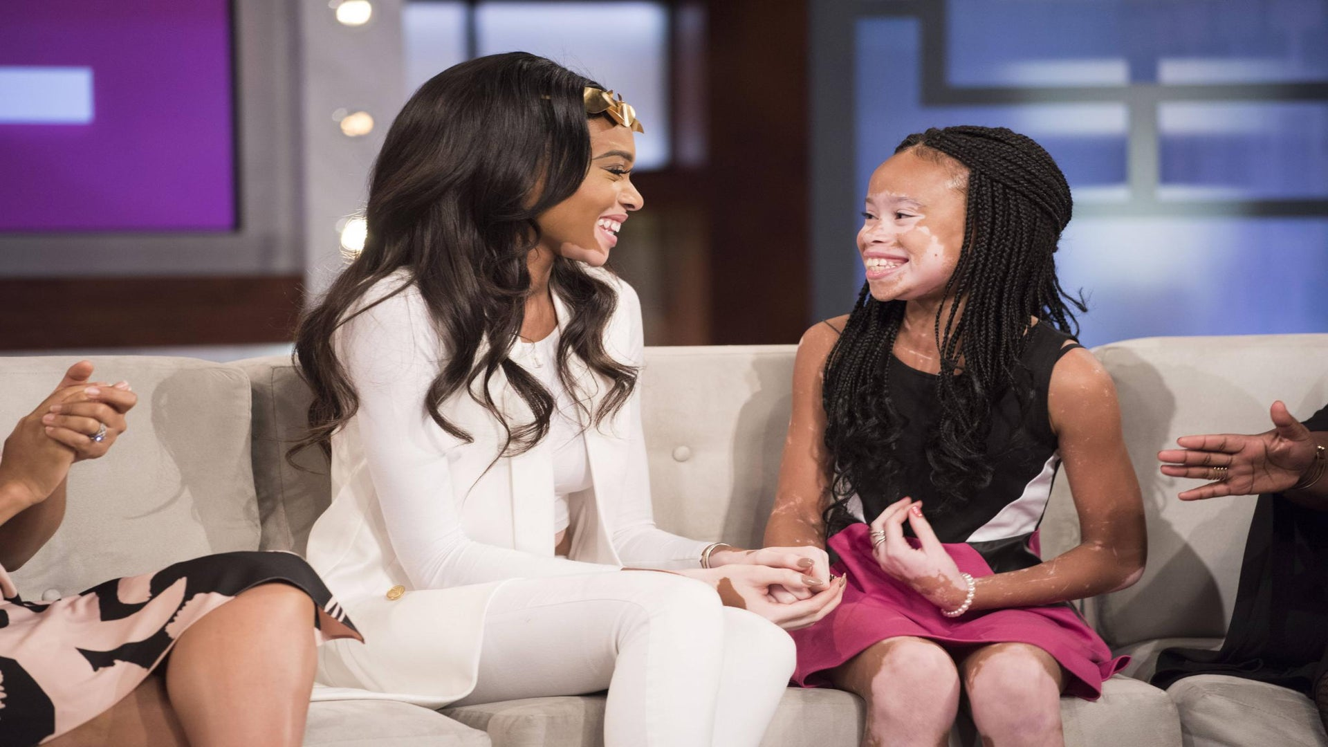 Exclusive: Winnie Harlow Surprises 10-Year-Old Aspiring Model, Offers Photoshoot