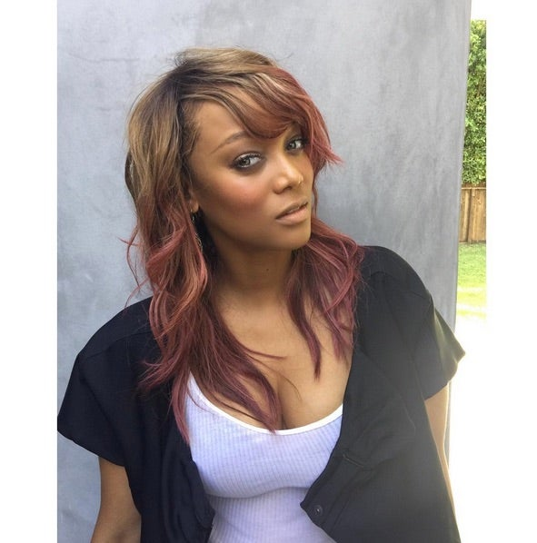 Tyra Banks Dyed Her Hair Barbie's Favorite Color