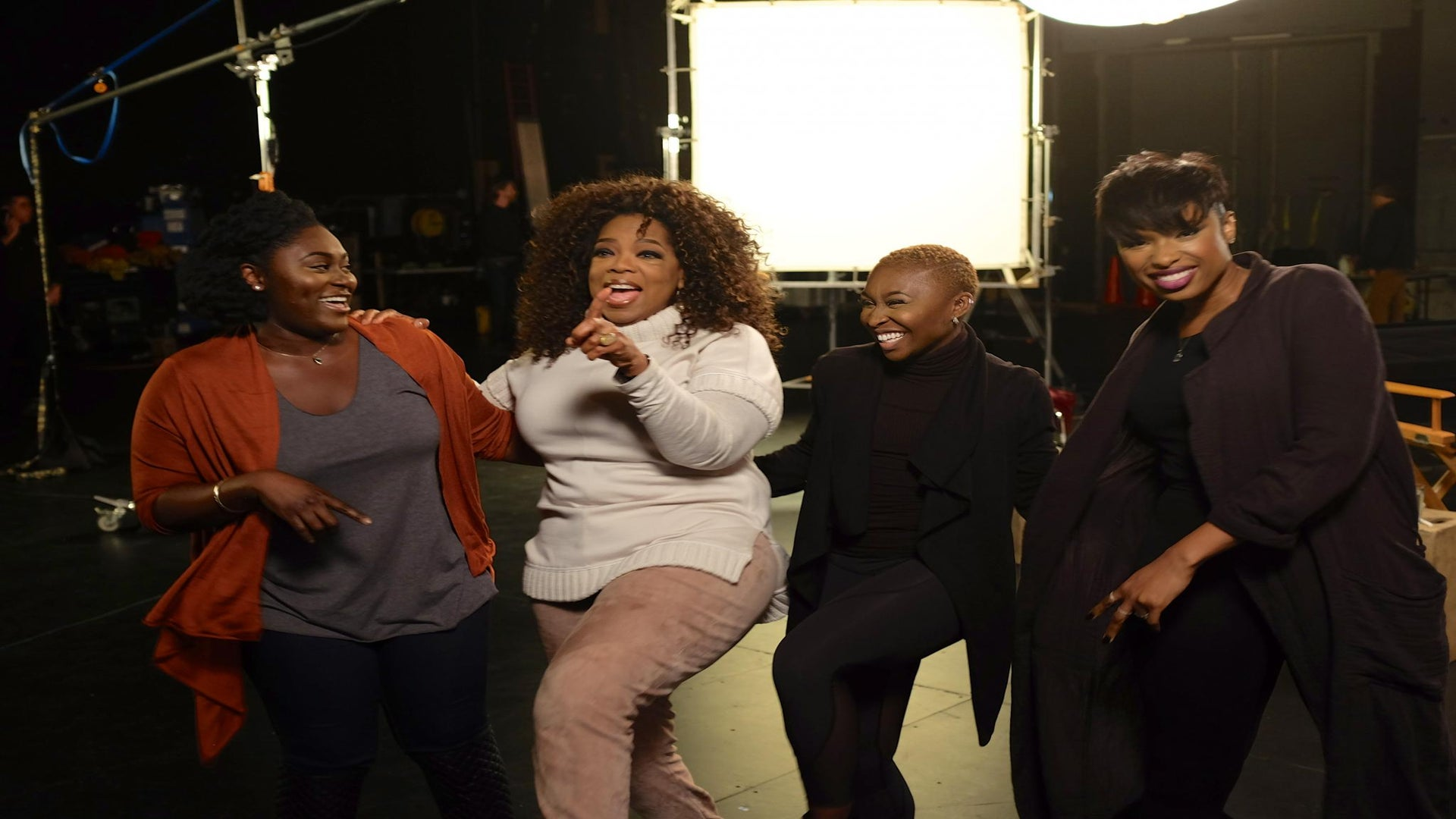 Oprah Heads to Broadway to Meet the Cast of 'The Color Purple' Musical