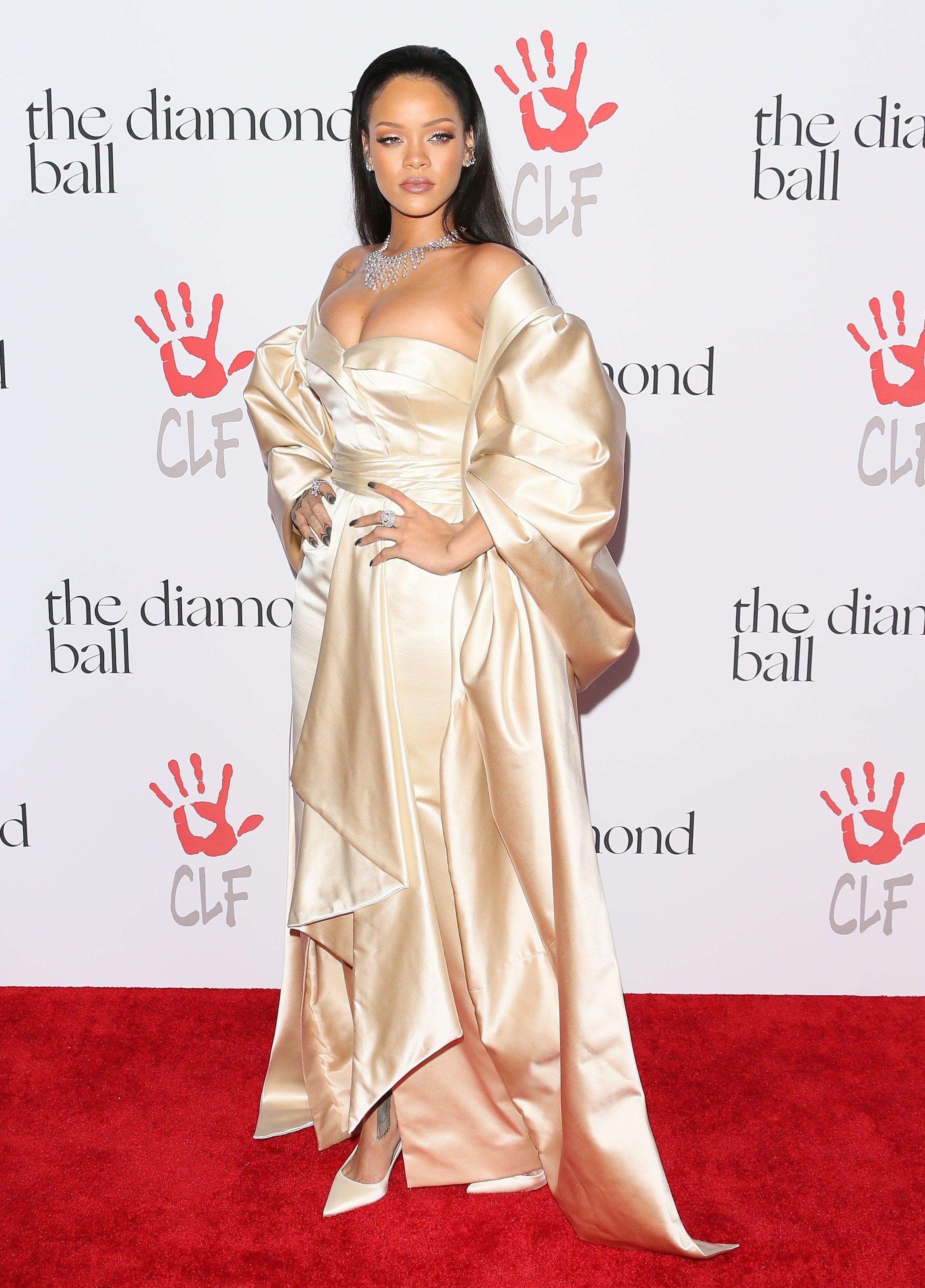 4eea28eb5d64 Stars Shine Bright at Rihanna's 2nd Annual Diamond Ball - Essence
