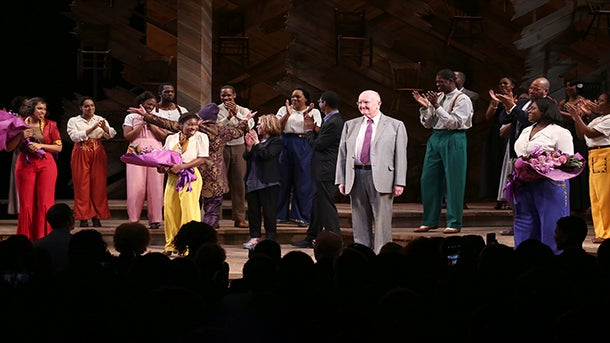 Jennifer Hudson Leads 'The Color Purple' Cast in Tribute to Prince
