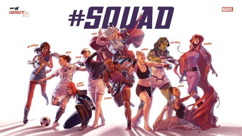Serena Williams, Misty Copeland Transformed Into Marvel Superheroes