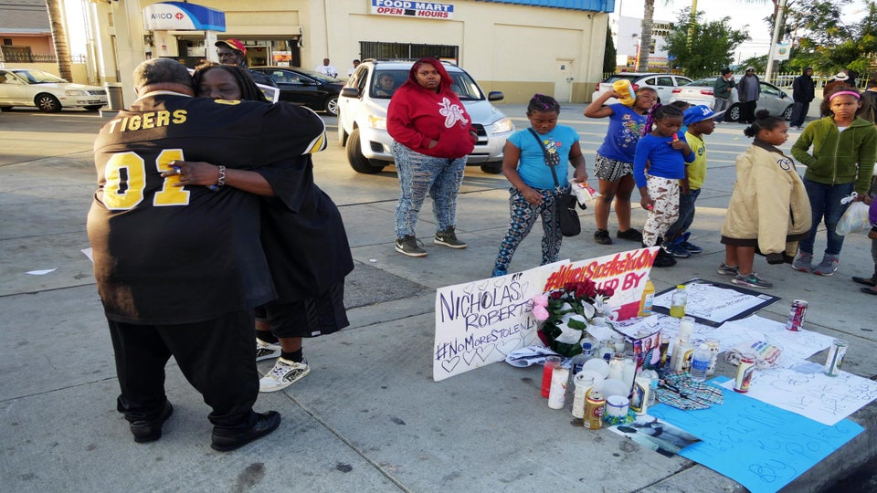 Los Angeles Residents Demand Justice After Police Shoot Black Man 33 Times