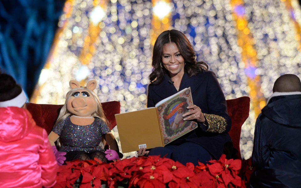 Michelle Obama Spills the Beans on President Obama's Christmas Present – and What's on Sasha and Malia's Wish Lists!