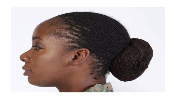 Marine Corps Authorize Lock and Twist Hairstyles