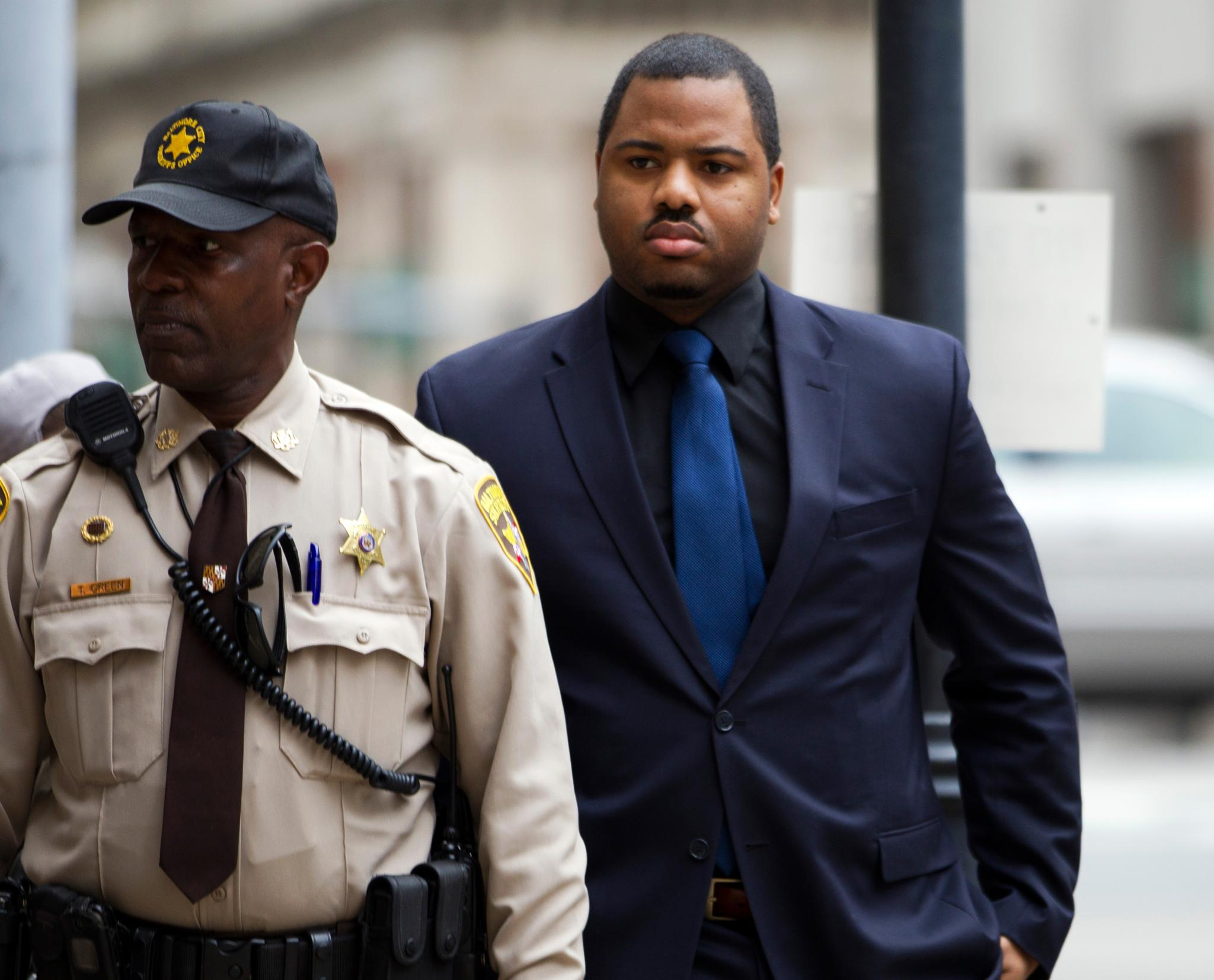 Baltimore Officer Ordered to Testify Against All Other Defendants in Freddie Gray Case