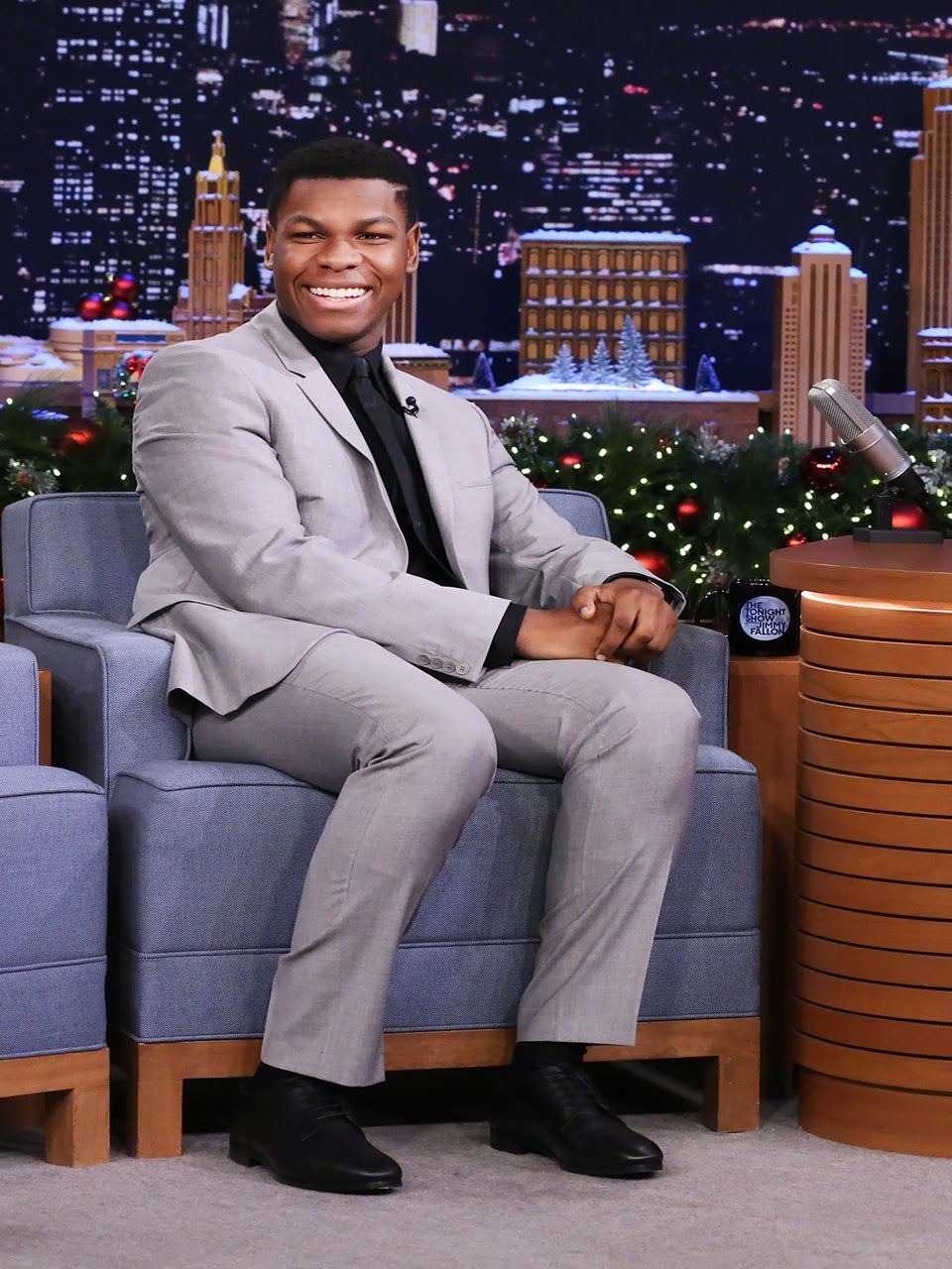 'Star Wars: The Force Awakens' Star John Boyega Says His Friends Thought He Was An Extra