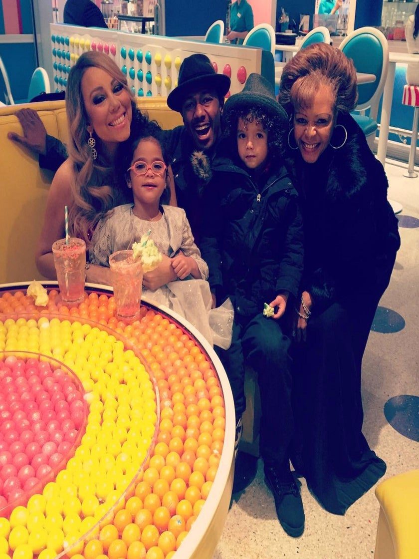 Photo Fab: It's a Family Affair With Nick Cannon, Mariah Carey and 'Dem Babies'