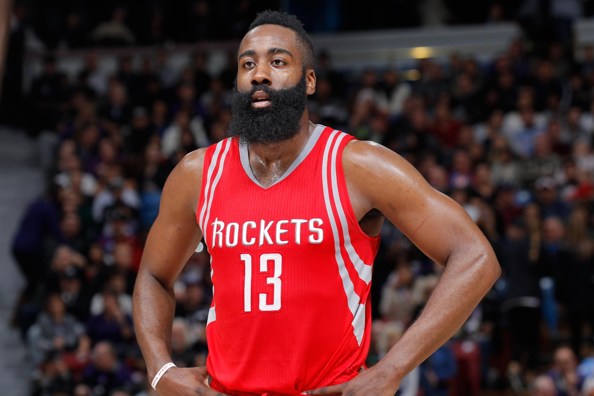 Big Bearded Man James Harden Has A FIFA Squad Bench Full ...