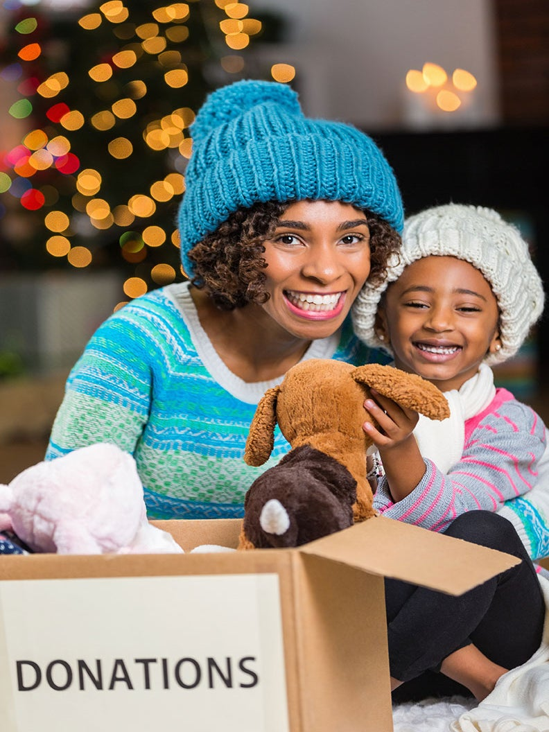 How Do You Best Express Your Holiday Spirit of Giving Back?