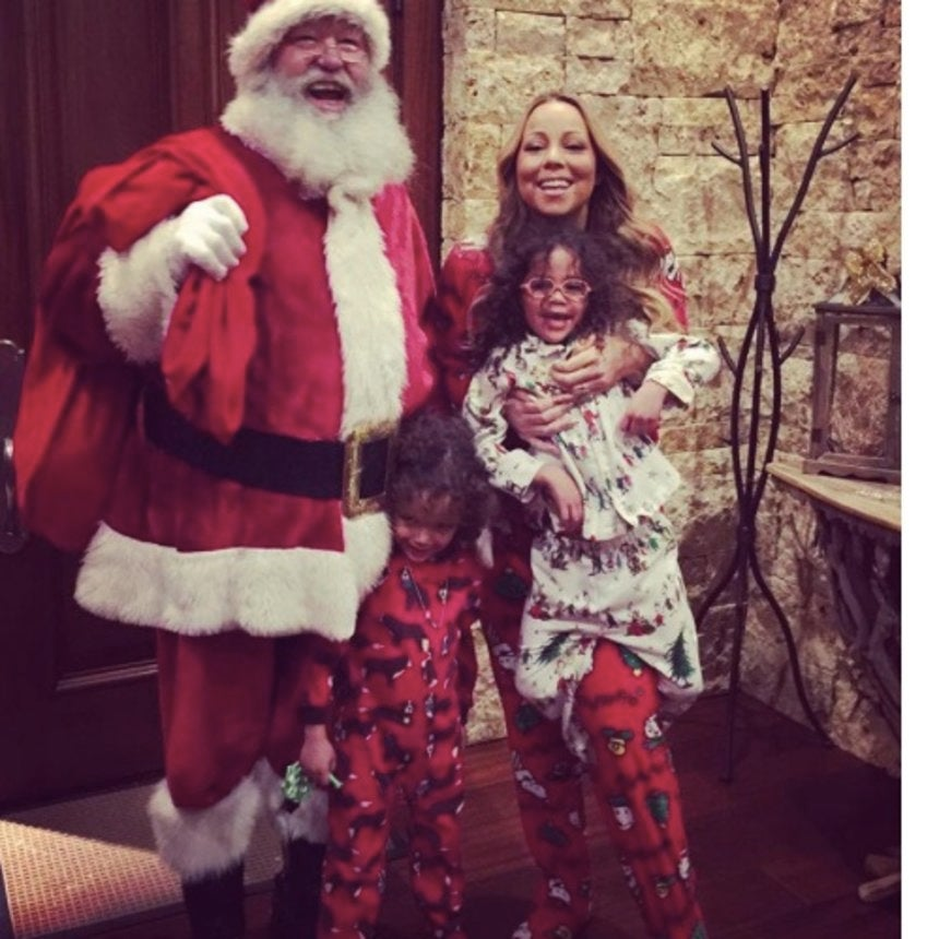 How Our Favorite Stars Celebrated Christmas
