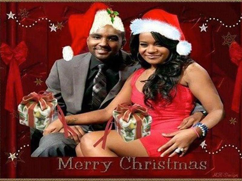 Nick Gordon Responds to Backlash Over Photoshopped Bobbi Kristina Christmas Card