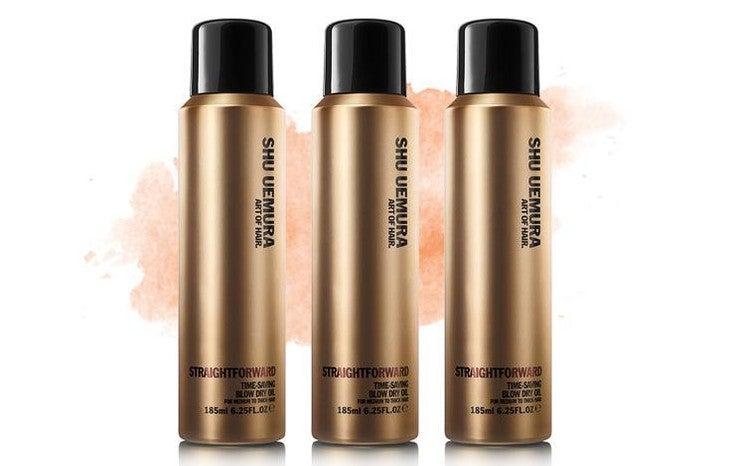 Product of the Day: Shu Uemura Straightforward Time-Saving Blow Dry Oil