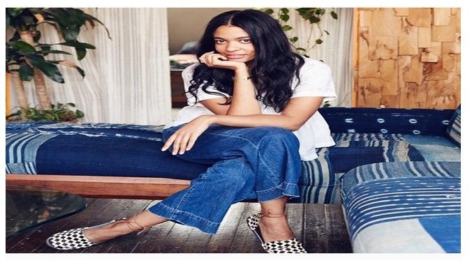 Designer Aurora James Calls Out Zara for Copying Her Signature Footwear