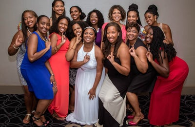 From Crossing Over to Jumping the Broom: 26 Sorority Bride Moments that Highlight True Sisterhood