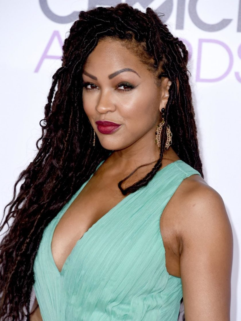 Photo Fab: We're Obsessed With Meagan Good's Faux Locs!