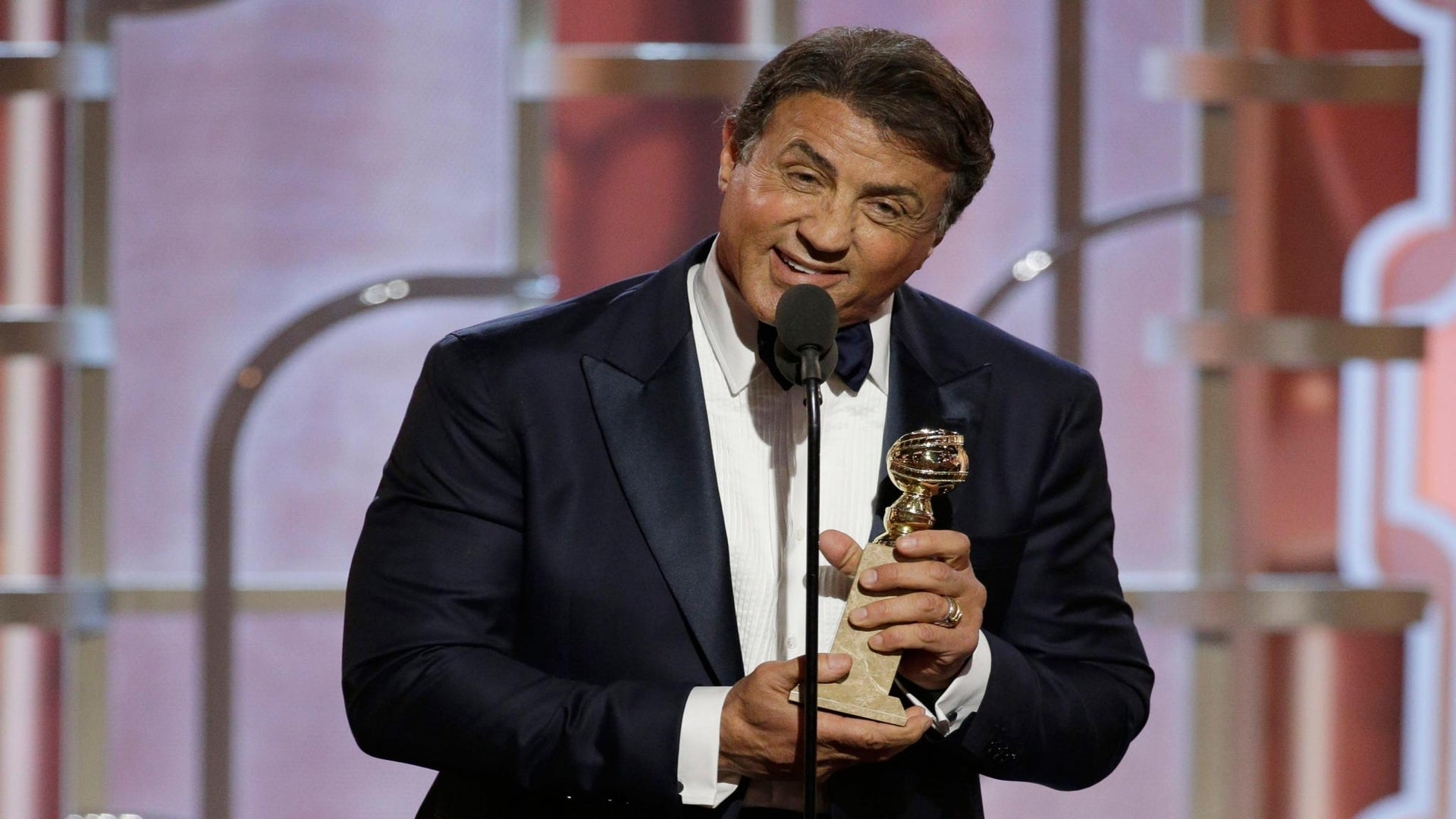 Huh? Sylvester Stallone Forgets to Thank 'Creed' Director While Accepting Golden Globe