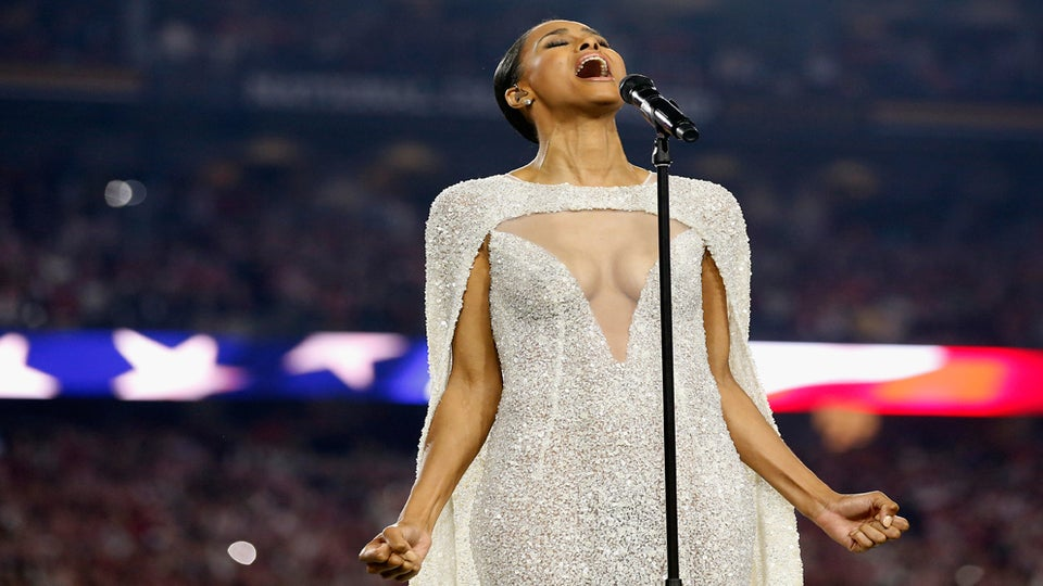 Why Are People Freaking Out Over Ciara's Dress at the College Football Championship?