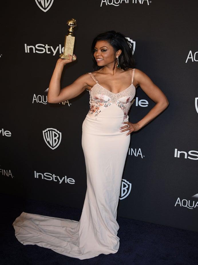 "Taraji P. Henson Celebrates Her First Golden Globe Win: ""Believe in Something Higher Than You"""