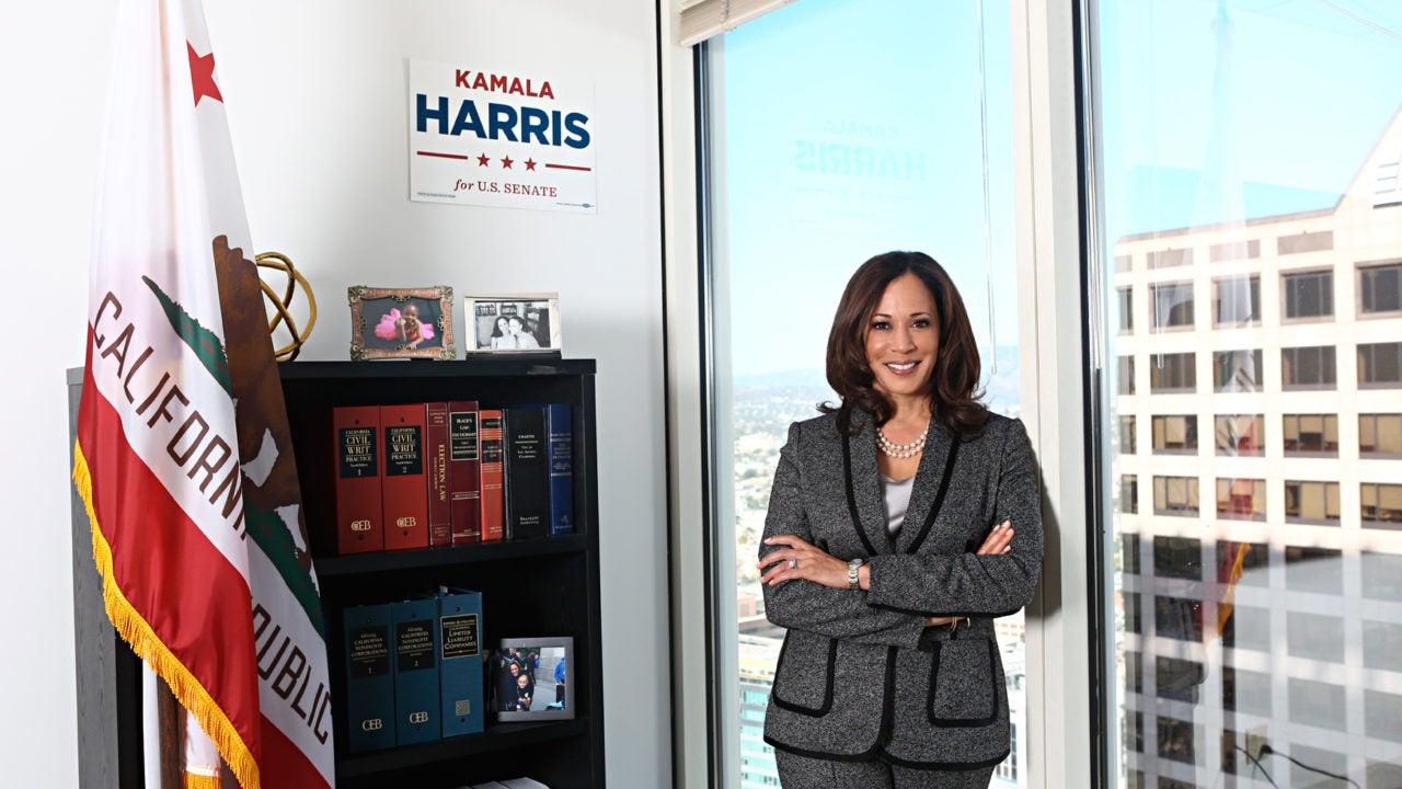 Kamala Harris Becomes The Second Black Woman Elected To The U.S. Senate