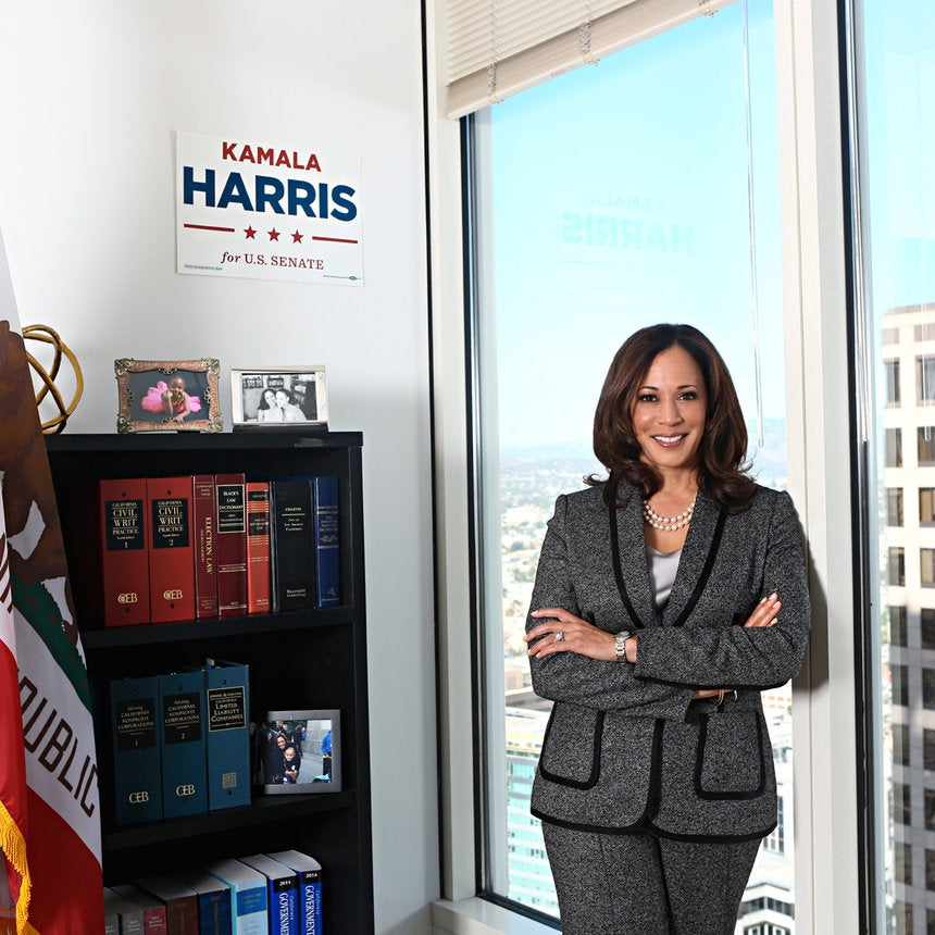 Kamala Harris Has Officially Been Sworn In As California's First Black Female Senator