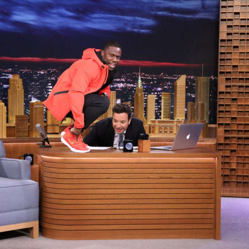 Kevin Hart Partners with Nike for His Own 'Hustle Hart' Sneakers