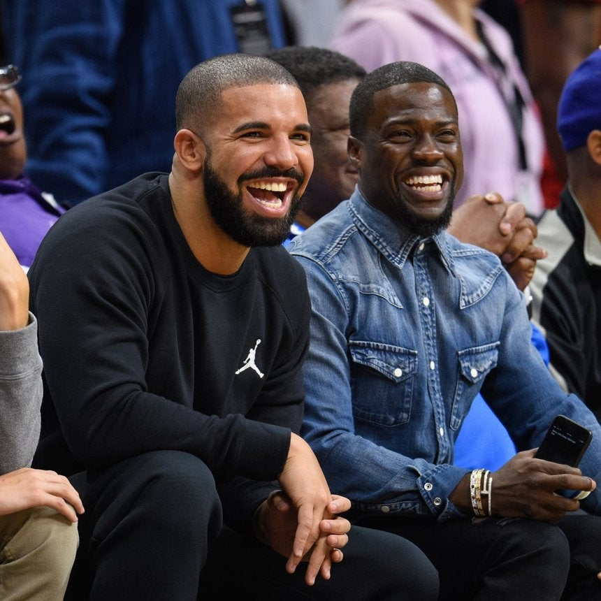 Drake, Kevin Hart to Go Head-to-Head for NBA All-Star Game