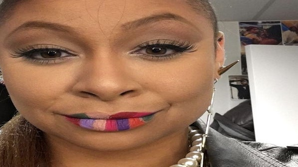 Raven-Symoné's Lip Swatches Are the Coolest Thing We've Seen All Week