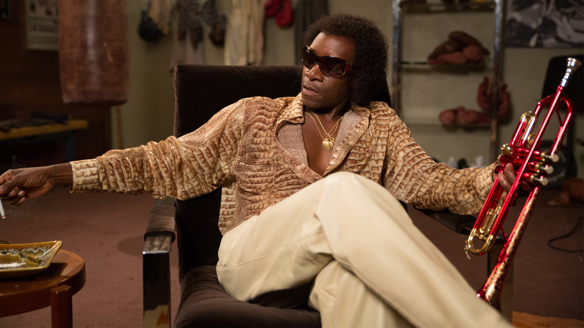 Don Cheadle Says He Was a 'Nervous Wreck' Making Miles Davis Biopic