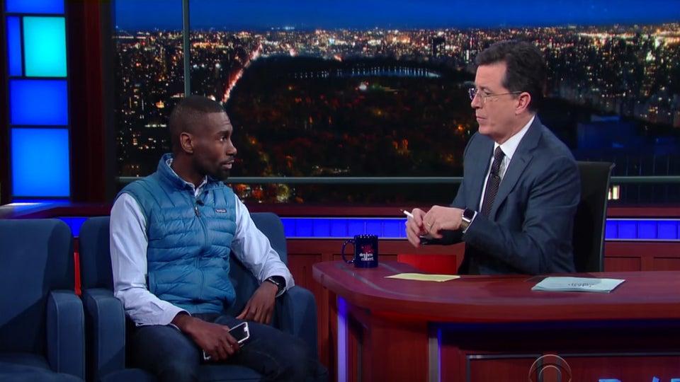 Watch Ferguson Activist DeRay Mckesson Help Stephen Colbert Check His White Privilege