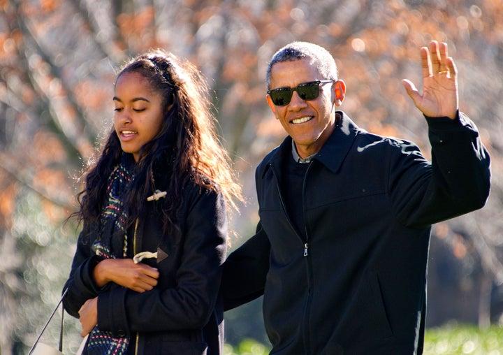 President Obama Won't Speak at Malia's Graduation: 'I'm Going to Cry'