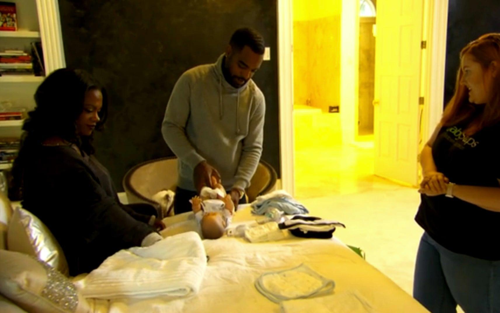 'RHOA' Sneak Peek: Kandi Burruss and Todd Tucker Get A Visit From A Baby Coach