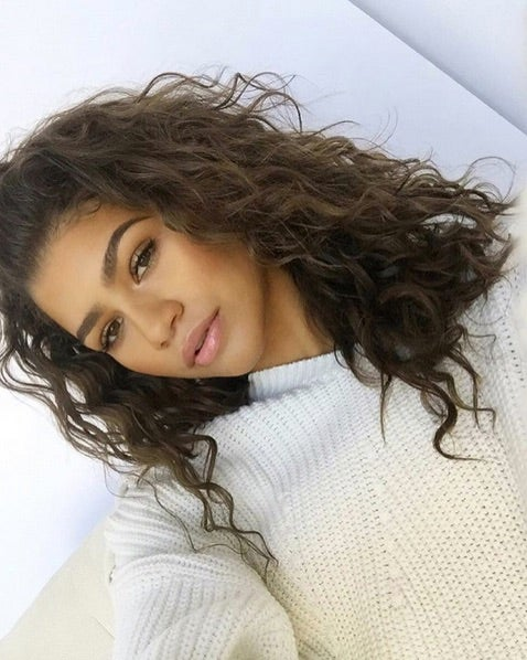 How Zendaya Learned to Embrace Her Curls
