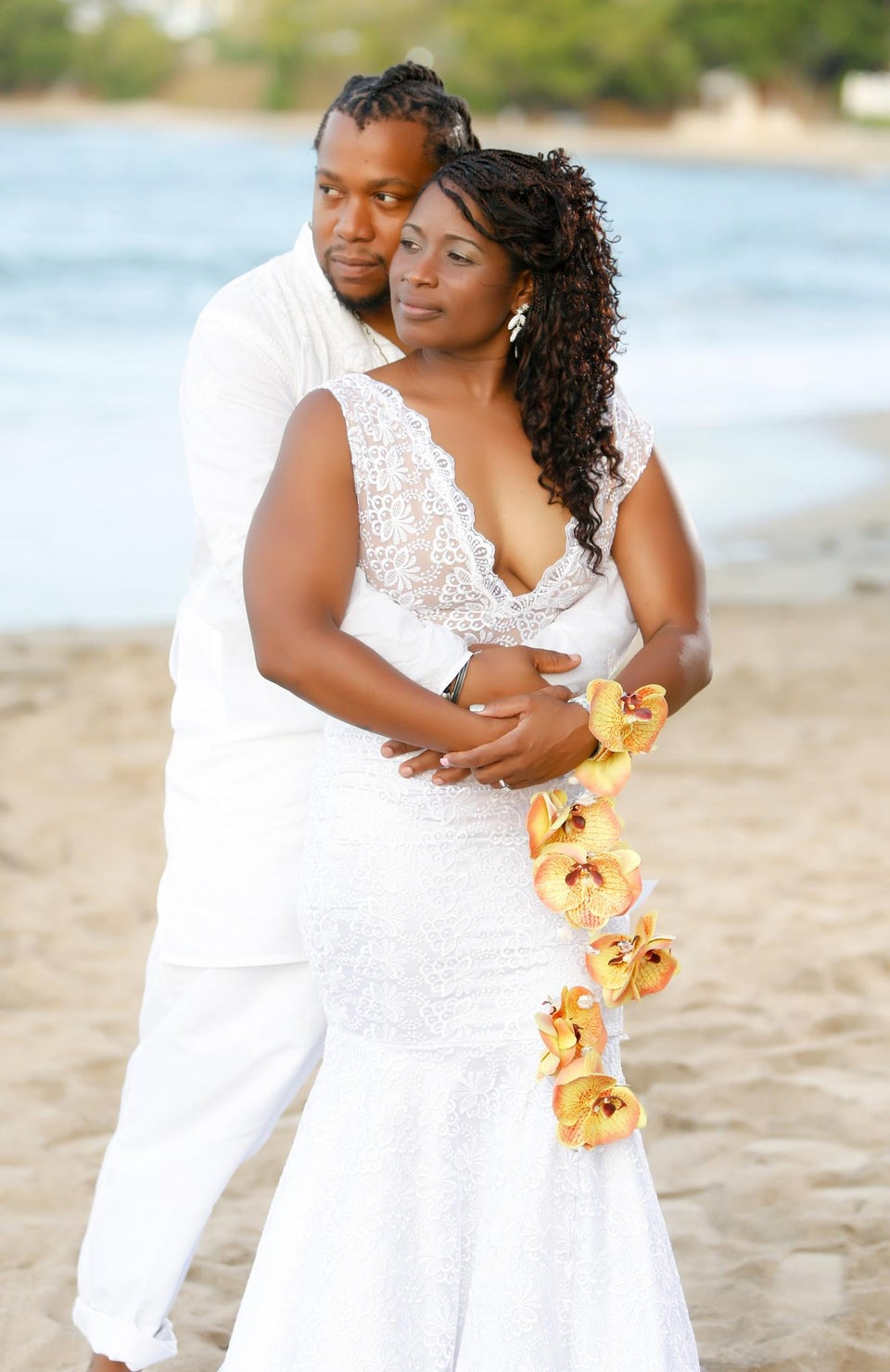 Bridal Bliss: Soul Mates Melissa and Abiola Met at Work and Married In Paradise
