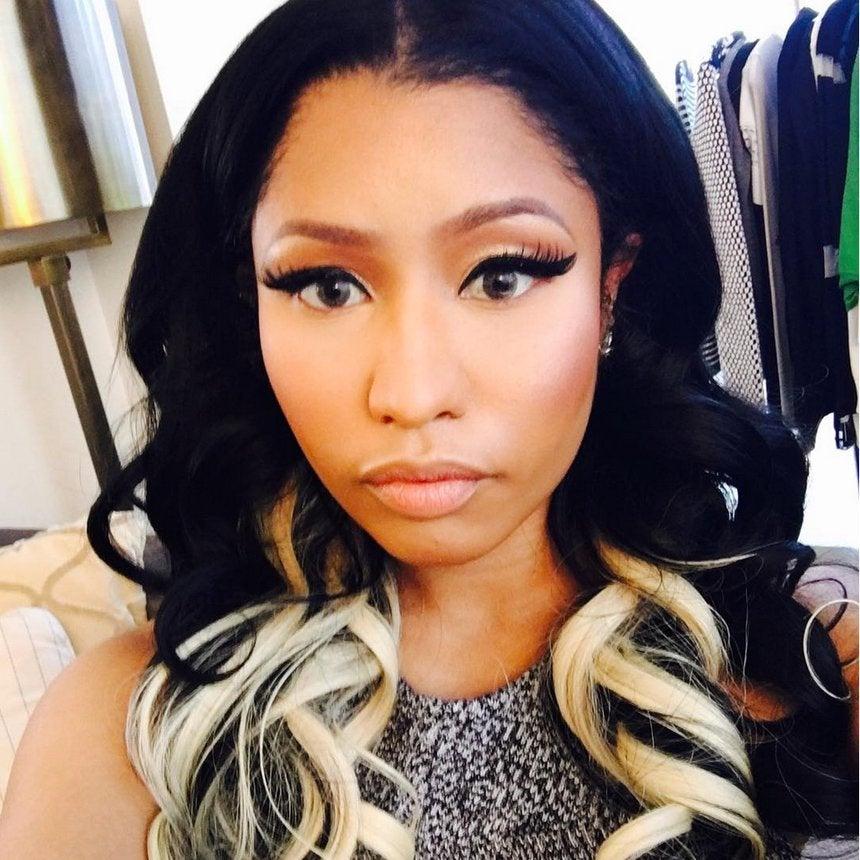 Nicki Minaj's Two-Toned Curls Will Have You Running to Your Stylist