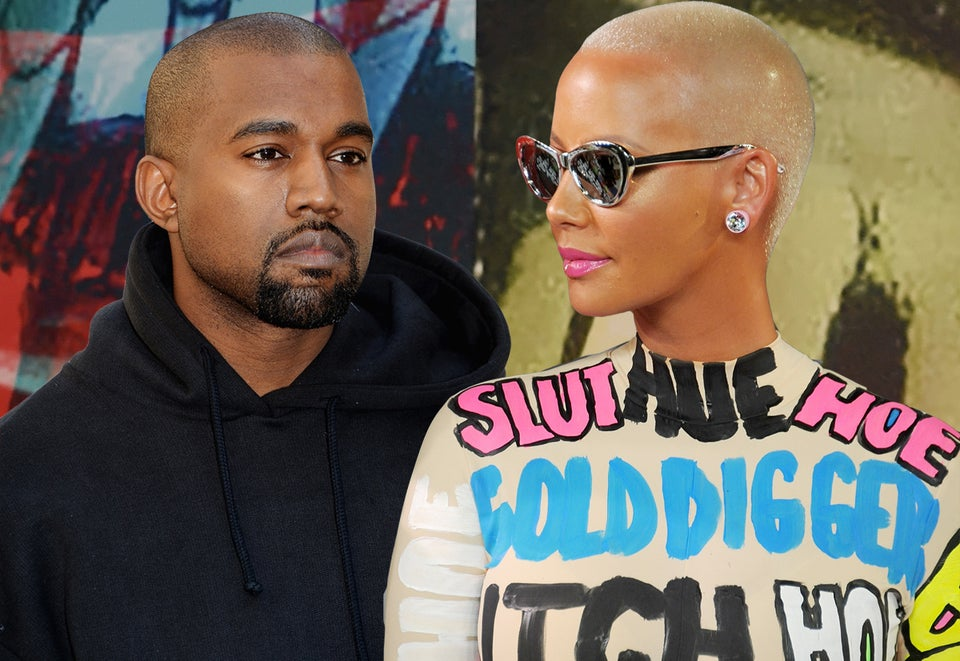 Dear Kanye, It's Time to Let Go of Amber Rose!