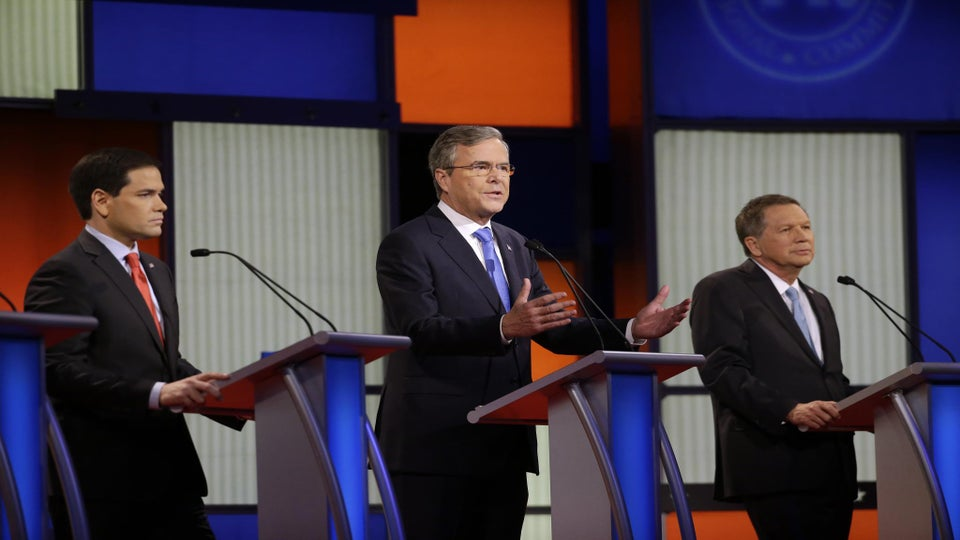 GOP Candidates Bask in Donald Trump's Absence in Final Debate Before Iowa Caucuses