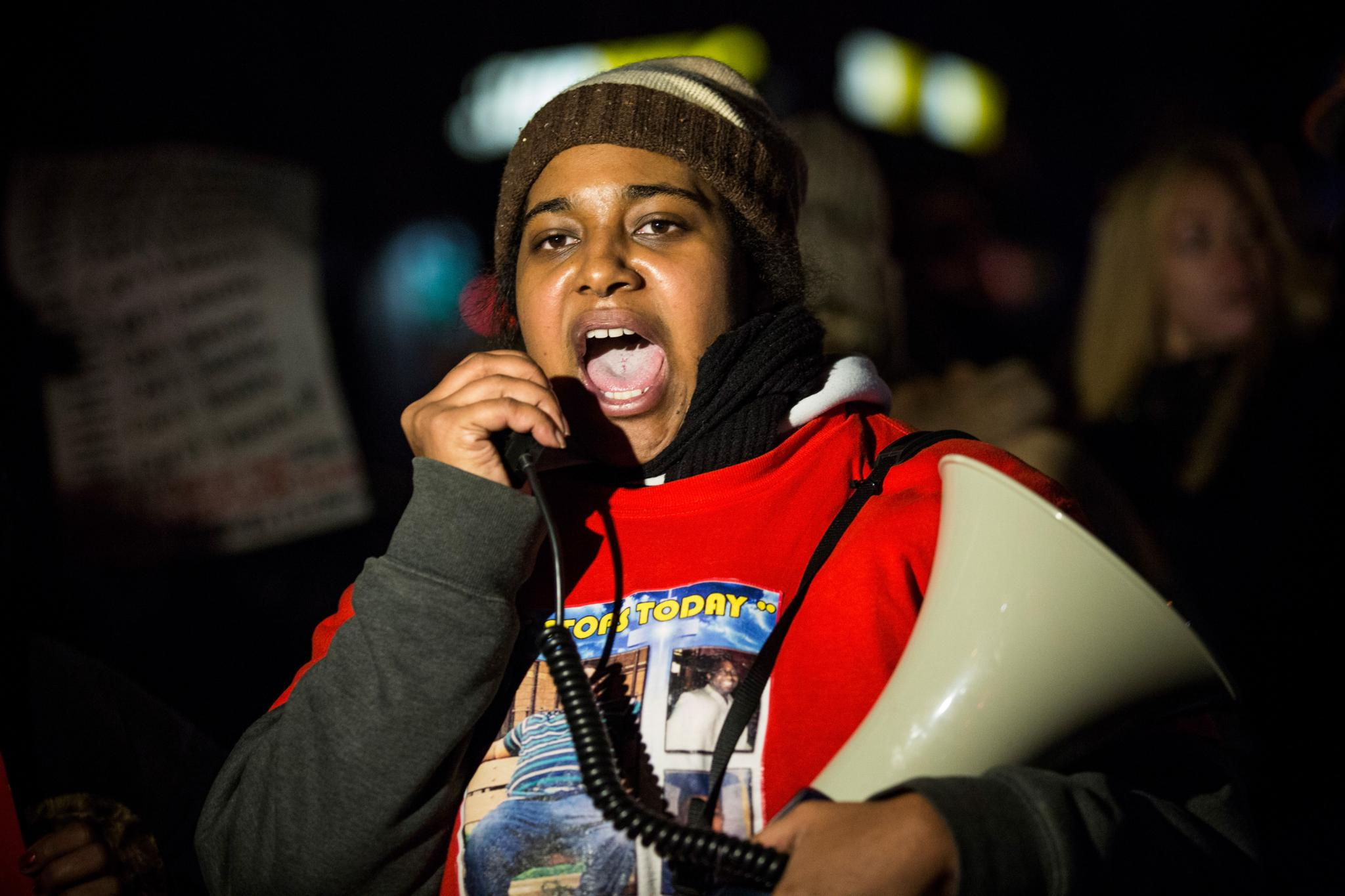 Erica Garner To NYC Mayor Bill De Blasio: You Don't Love Black Lives