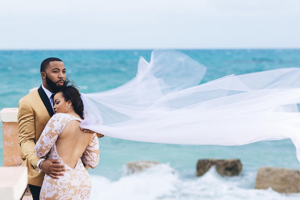 Bridal Bliss: This Couple's Bahamas Wedding Photos Will Blow You Away