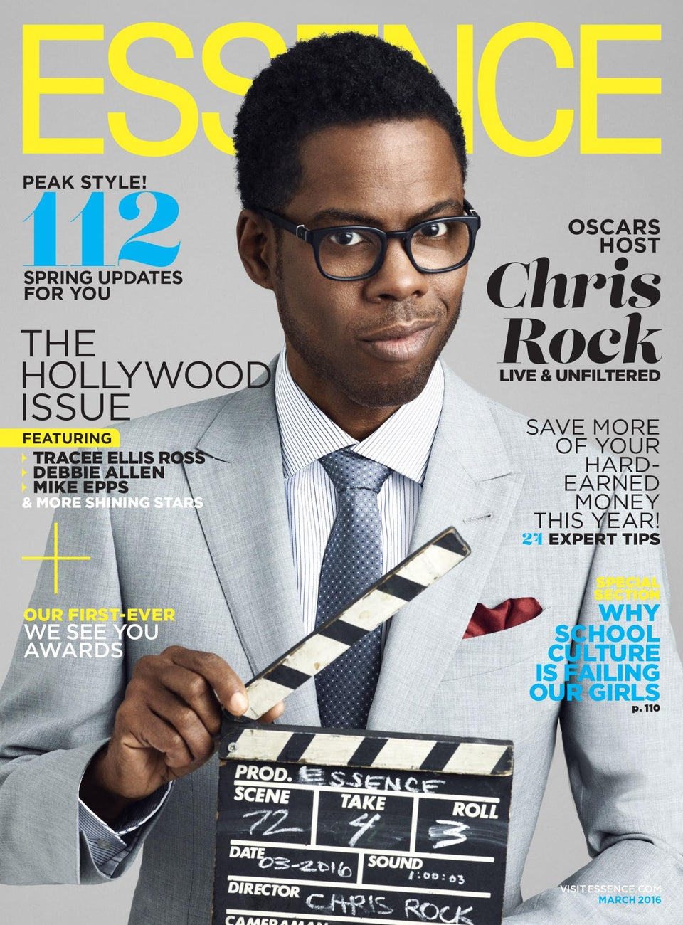 Chris Rock Graces First ESSENCE Cover, Talks Roles for Black Women in Hollywood