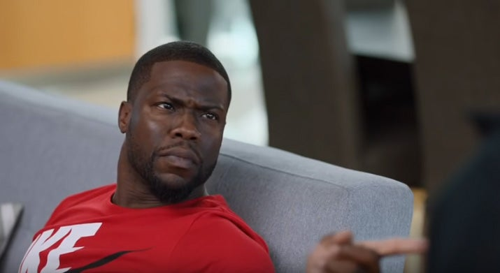 Kevin Hart Commercial >> Kevin Hart Has A Hilarious Clothing Mishap In New Kids Foot Locker