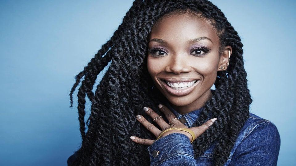 Brandy Talks Hair Evolution: 'I Feel My Best When Wearing My Natural Curls'