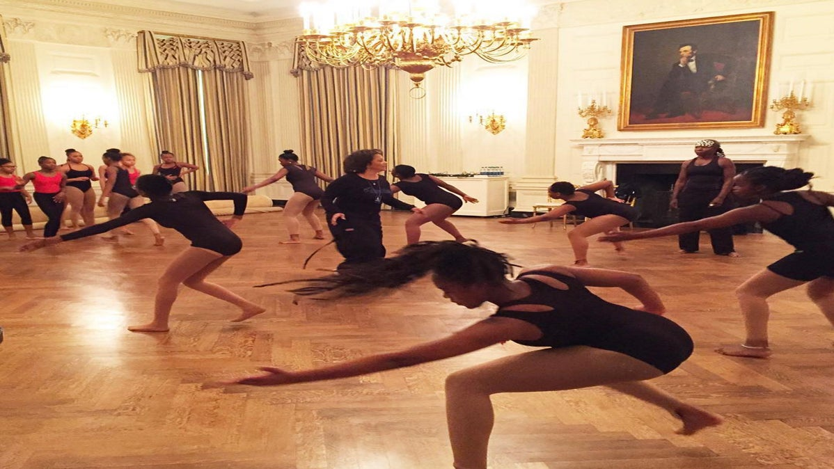 Michelle Obama Brings African Dance Classes to the White House in Honor of Black History Month